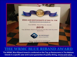 The Blue Riband Award.