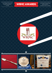 The WRMC Awards poster.